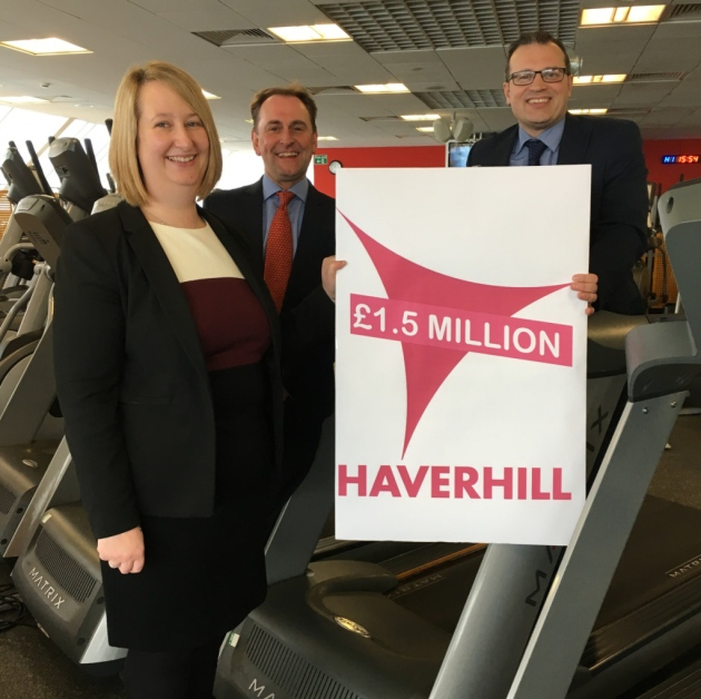 £1.5m Investment Agreed For Haverhill's Leisure Facilities